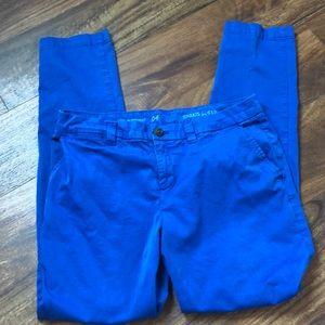 GAP Khaki Capris Blue
